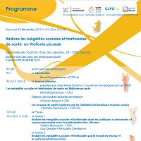 Réduire les inégalités sociales et territoriales de santé en Wallonie picarde