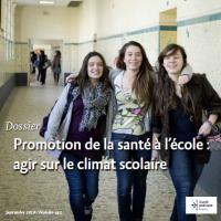 Promotion de la santé à l'école : agir sur le climat scolaire
