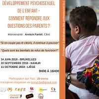 Formation sur le développement psycho-sexuel des enfants