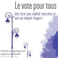 Le vote pour tous
