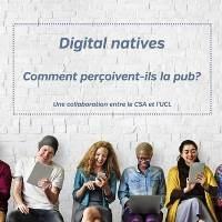 Digital Natives, comment perçoivent-ils la pub ?