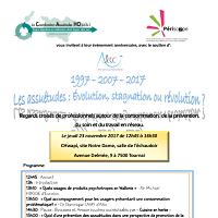1997 – 2007 – 2017 : Les assuétudes: Evolution, stagnation ou révolution?
