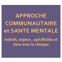 Approche communautaire et santé mentale
