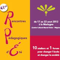 41es Rencontres Pédagogiques d'été (RPé)