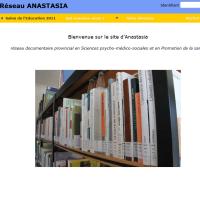 Catalogue en ligne du réseau ANASTASIA