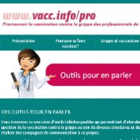 Dossier électronique pour les professionnels de la santé : www.vacc.info/pro