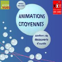 Ateliers de découverte d'outils et d'animations citoyennes