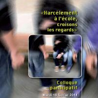 Harcèlement à l'école, croisons les regards