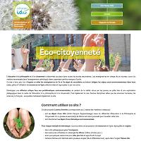 Eco-citoyenneté : nouveau site !
