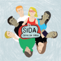 Sida, cartes sur tables