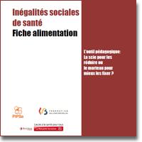 """Inégalités Sociales de Santé (ISS) : Fiche """"Alimentation"""""""