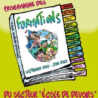 Formations de la Fédération Francophone des Écoles de Devoirs
