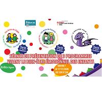 Présentation de 3 programmes qui visent le développement des compétences socioémotionnelles des enfants