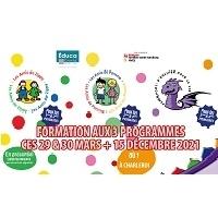 Formation à 3 programmes qui visent le développement des compétences socio-émotionnelles des enfants du primaire