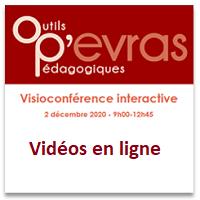OP'EVRAS : la Visioconférence interactive du 2 décembre 2020