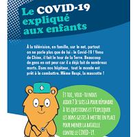 Le COVID-19 expliqué aux enfants et aux ados