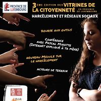 """Vitrines de la Citoyenneté : """"Harcèlement et réseaux sociaux"""""""
