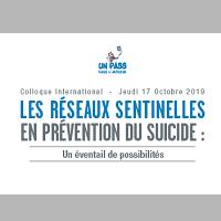 Les réseaux sentinelles en prévention du suicide : un éventail de possibilités