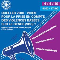 Quelles voix·voies pour la prise en compte des Violences Basées sur le Genre (VBG)?